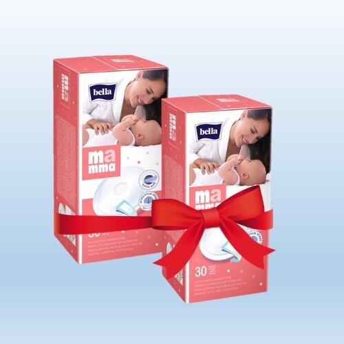 Купить Набор bella mamma вкладыш лактационный на липучке n30 из 2-х уп по специальной цене цена