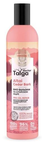Купить Doctor taiga бальзам био восстановление поврежденных волос 400мл цена