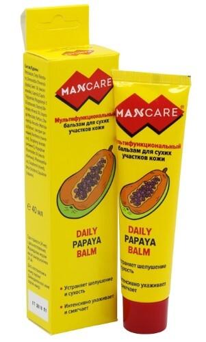 Купить Мультифункциональный бальзам для сухих участков кожи daily papaya balm/папайя 40мл цена