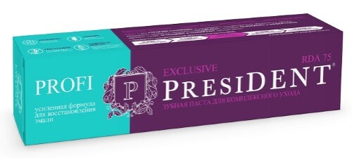 Купить Profi президент профи зубная паста exclusive 100мл цена