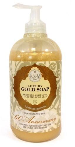Купить 60° anniversario d'oro жидкое мыло юбилейное золотое 500мл цена