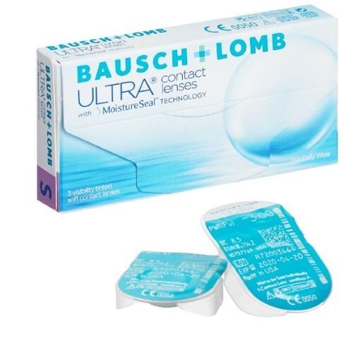 Купить BAUSCH&LOMB ULTRA КОНТАКТНЫЕ ЛИНЗЫ ПЛАНОВОЙ ЗАМЕНЫ /-1.00/ N3 цена