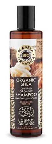 Купить Organic shea шампунь для волос органический 280мл цена