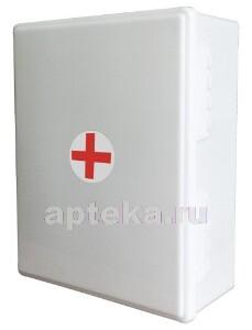 Купить Аптечка для оказания первой помощи работникам виталфарм тип 34 пластиковый шкаф/4580/2 цена