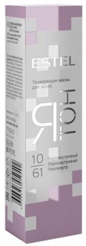 Купить Ятон тонирующая маска для волос тон 10/61 перламутровый 60мл цена