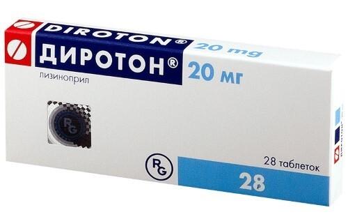 Купить ДИРОТОН 0,02 N28 ТАБЛ цена
