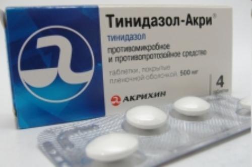 Купить Тинидазол-акри цена