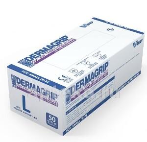 Купить Перчатки смотровые dermagrip high risk неопудренные l n25 пар цена