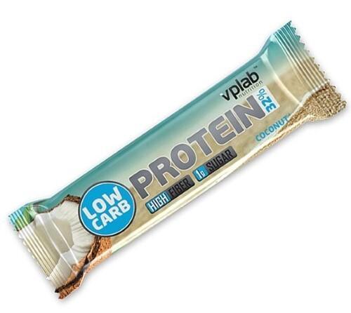Купить Вплаб лоу карб протеин бар батончик со вкусом кокоса 35,0 цена