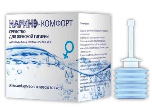 Купить Наринэ-комфорт средство для женской гигиены 10,0 n9 одноразовых аппликатора цена