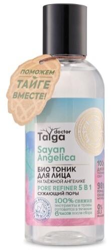 Купить Doctor taiga тоник для лица био 5в1 сужающий поры 170мл цена