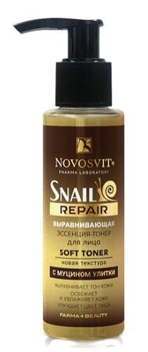 Купить Snail repair выравнивающая эссенция-тонер для лица с муцином улитки 100мл цена