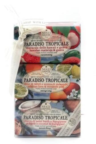 Купить Paradiso tropicale мыло тропический рай 3x250,0/набор/ цена