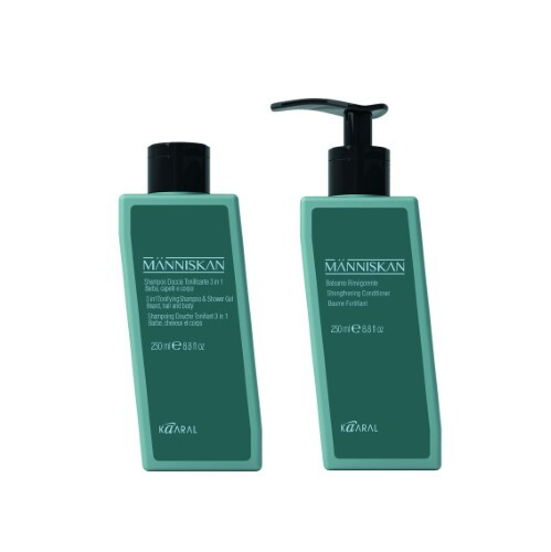 Купить Набор manniskan для мужчин - для ухода за любым типом волос (250 мл) цена
