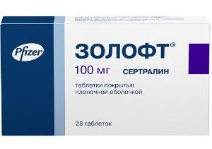 Купить ЗОЛОФТ 0,1 N28 ТАБЛ П/ПЛЕН/ОБОЛОЧ цена