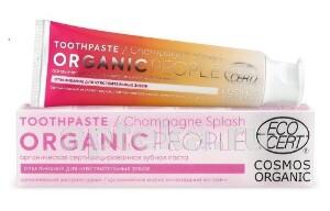 Купить Органическая сертифицированная зубная паста champagne splash 85,0 цена