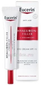 Купить Hyaluron-filler+volume lift крем для ухода за кожей вокруг глаз 15мл цена