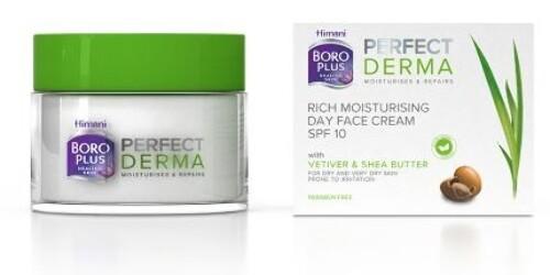 Купить Боро плюс perfect derma интенсивный увлажняющий дневной крем для лица spf 10 50мл цена