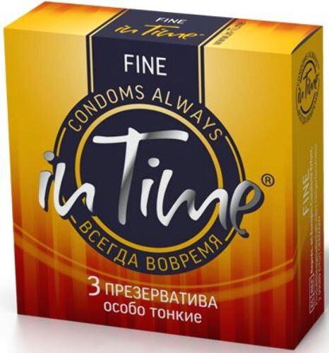 Купить Презервативы из натурального латекса fine n3 цена