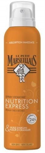 Купить Le petit marseil спрей увлажняющий для тела экспресс-питание масло арганы и цветок апельсинового дерева 200мл цена