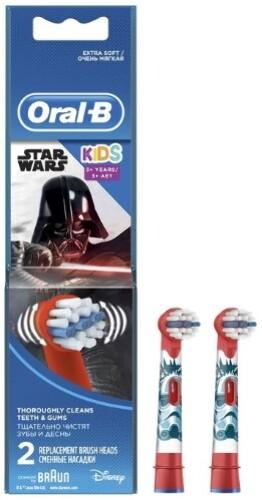 Купить Насадка сменная для электрической зубной щетки детская stages power starwars eb10k n2 звездные войны цена