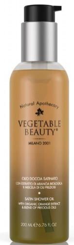 Масло для душа сатиновое /экстракт сицилийского апельсина и компл драгоценных масел 200мл