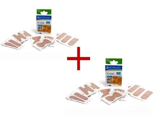Купить Набор ecoplast набор пластырей мед ткан in road n20 2 уп по цене 1! цена