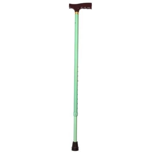 Купить Трость ортопедическая amcт25 gr пластиковая ручка /зеленая цена