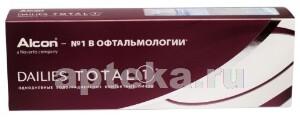Купить Dailies total 1 однодневные водоградиентные контактные линзы цена