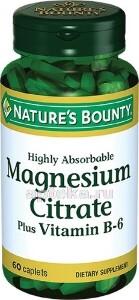 Цитрат магния с витамином b6