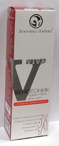 Купить Венотоник крем-гель для ног с экстрактом каштана конского 100мл цена