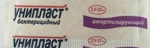 Купить Лейкопластырь унипласт бактерицидный цена