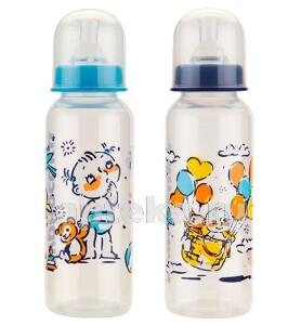 Бутылочка полипропиленовая с силиконовой соской 0+ 250мл/11141