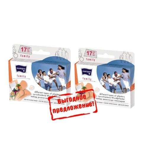 Купить Набор matopat пластырь family n17 /набор/ 2 уп по специальной цене цена