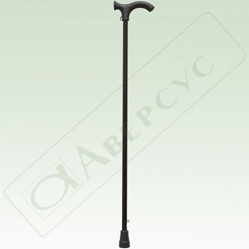 Трость опорная метал (алюмин сплав) с устр п/скольж
