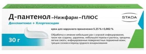 Купить Д-ПАНТЕНОЛ-НИЖФАРМ-ПЛЮС 30,0 КРЕМ Д/НАРУЖ ПРИМ цена