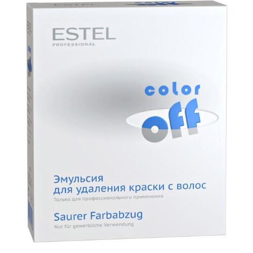 Купить Professional color off эмульсия для удаления краски с волос (восстановитель+катализатор+нейтрализатор) 120мл n3 цена