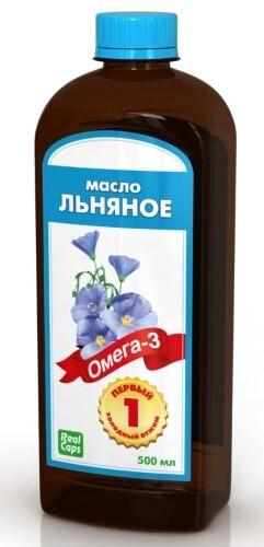 Купить Льняное масло первый холодный отжим 500мл цена