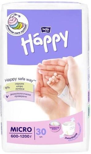 Купить Baby happy подгузники для недоношенных детей цена