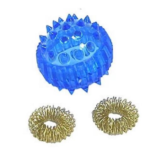 Купить Массажер медицинский шарик с двумя кольцами цена