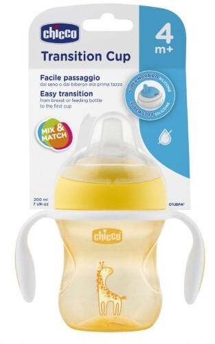 Купить Transition cup поильник 4+ 200мл/желтый цена