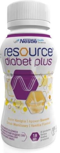 Купить Diabet plus смесь с пищевыми волокнами 200мл/ваниль цена