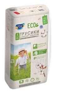 Купить Eco подгузники-трусики для детей хлопко-льняные цена