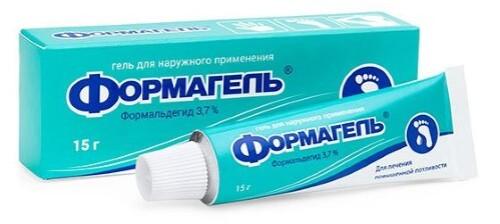 Купить ФОРМАГЕЛЬ 3,7% 15,0 ГЕЛЬ Д/НАРУЖ ПРИМ цена