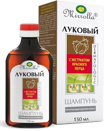 Купить Луковый шампунь с экстрактом красного перца 150мл цена