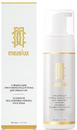 Купить Mezolux очищающая омолаживающая пенка для умывания 160мл цена