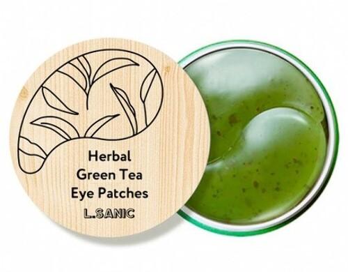 Купить Гидрогелевые патчи для области вокруг глаз с экстрактом зеленого чая n60 цена
