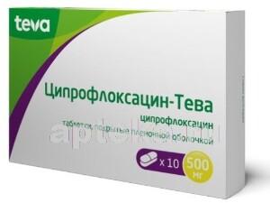 Купить Ципрофлоксацин-тева цена