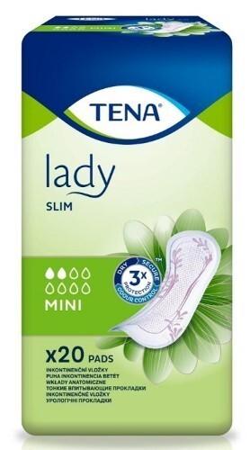 Купить Lady slim mini урологические прокладки n20 цена