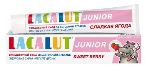 Купить Junior сладкая ягода зубная паста 8+ 75мл цена